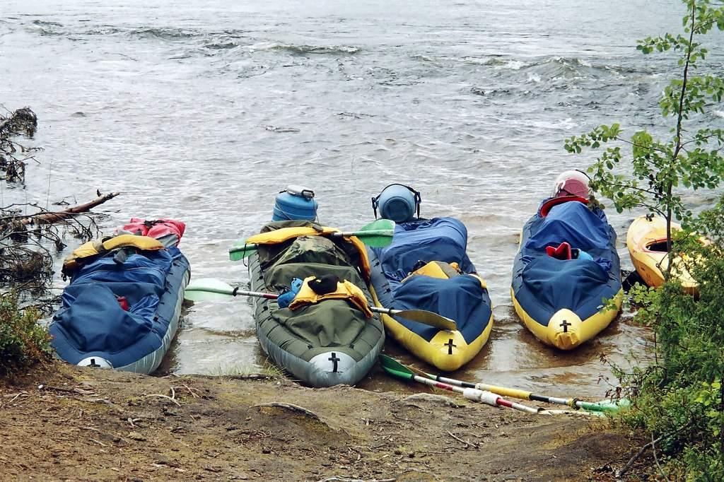 Сплав по реке кереть с 18 по 28 июля 2006г